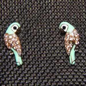 Jewelry - Tropical Birds Take Me To The Beach Stud Earrings